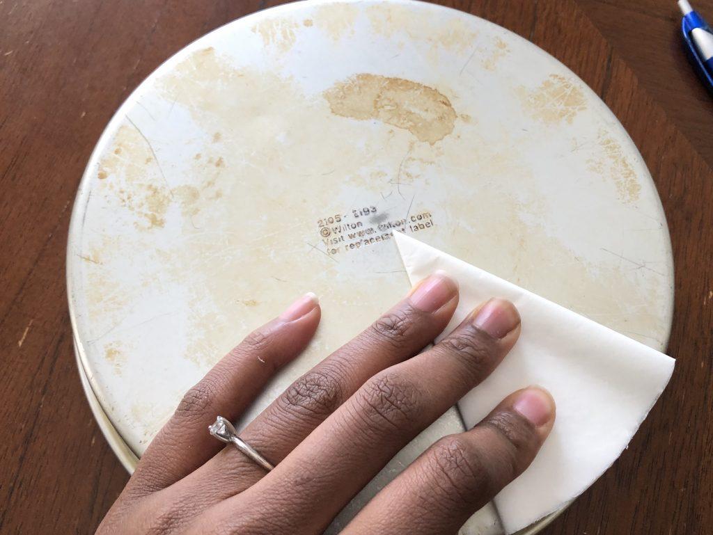 folding parchment paper