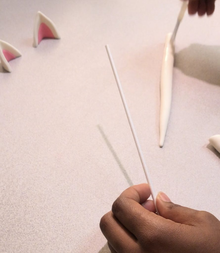 How to make the unicorn horn.