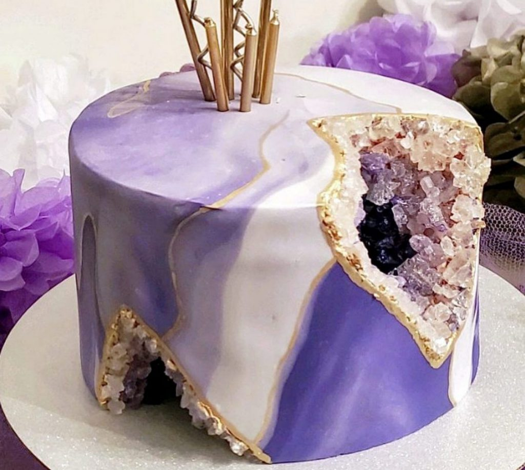 taking photos of cakes from different angles