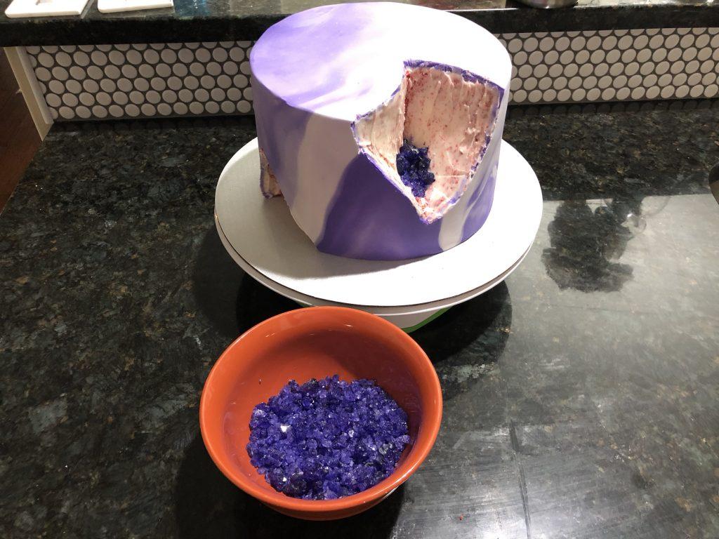 dark purple rock candy